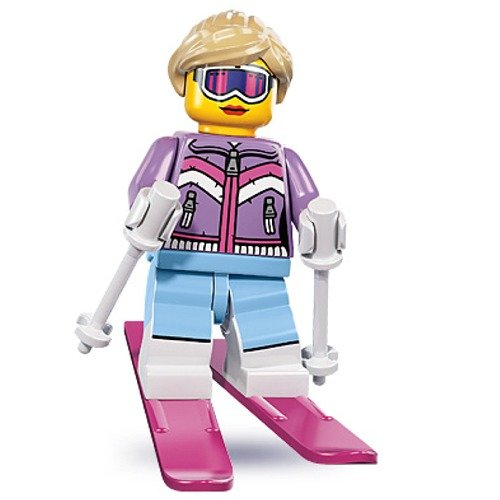 LEGO Minifigures Series 8 - Downhill Skier