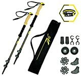 Best trekking poles - lookahead Walking Trekking Poles 2 pc/set-GIFT Survival Bracelet Review