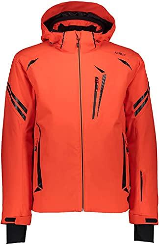 CMP Herren Wattierte Twill 5000 Skijacke, Orange, 52 EU