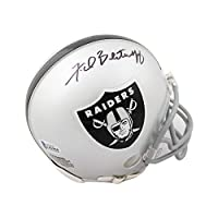 Fred Biletnikoff Autographed Oakland Raiders Mini Football Helmet - BAS COA