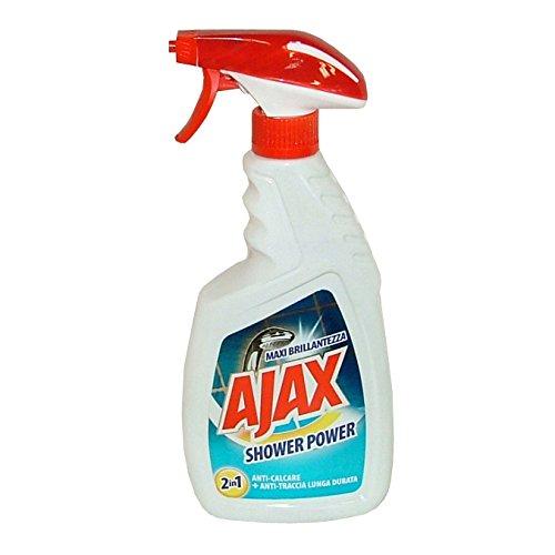 Set 10 AJAX Duschkopf TRIGGER 600 ml Shower Power Haushaltsreiniger