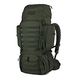 The Mardingtop 60 liter hiking backpack is the largest on the list and is  made for a long distance hiking trip. The 60 liter capacity gives you  plenty of ... b2ef301b60941