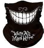 Avacoo Multifunktionstuch Herren & Damen - Atmungsaktiv & Schnelltrocknend - Wind Face Shield - Motorrad Gesicht Mundschutz Lustig Skull Maske Chopper Mund-Tuch Halsschlauch Halstuch mit Motiv
