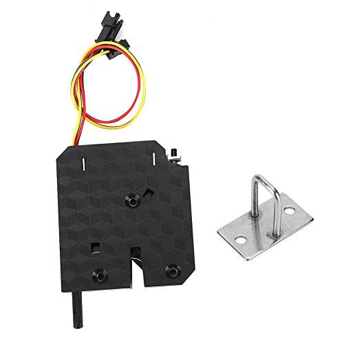 Cerradura de puerta con control de energía de 12 V, cerradura magnética eléctrica para gabinetes de almacenamiento, buzones, gabinetes de logística