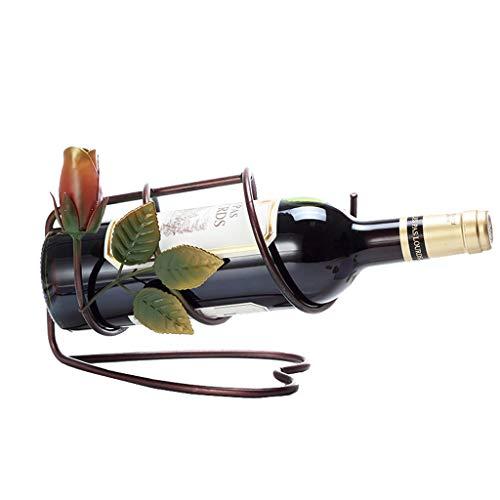 Soporte Organizador de botelleros Decoración Creativa del Estante del Vino, Decoración Simple del Gabinete del Vino De La Botella De Vino Estantes de exhibición del Soporte del almacenamie