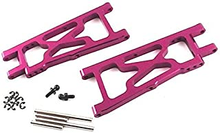Hot Racing NMT2056 Purple Aluminum Rear Arm Set