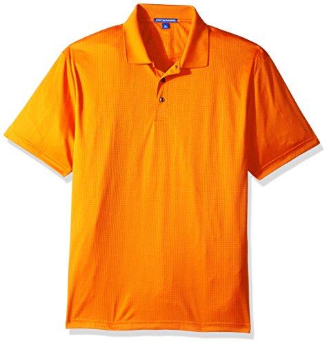 Port Authority® Performance Fine Jacquard Polo. K528 Autumn Orange 3XL
