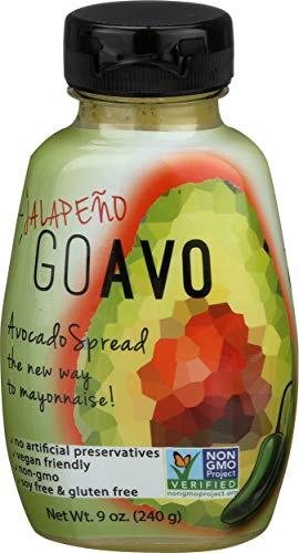 Goavo, Spread Avocado Jalapeno, 9 Ounce