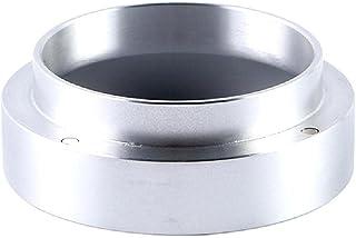Entonnoir de dosage en acier inoxydable pour expresso 51 mm 53 mm 58 mm Trois diamètres Noir/Argent Deux couleurs