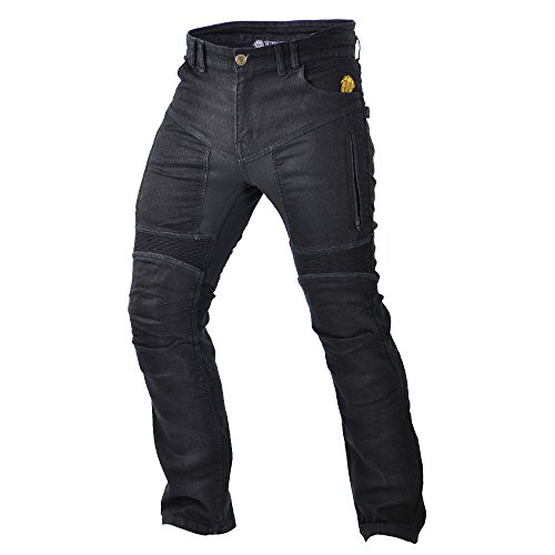 Trilobite Motorrad Herren Jeans Parado, schwarz Größe : 38