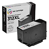 LD Remanufactured Ink Cartridge Replacement for Epson 312XL T312XL120 High Yield (Black)