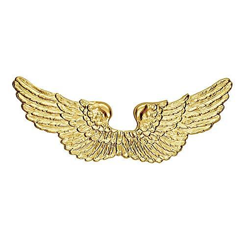 Widmann Engelsflügel Gold Kunststoff Zubehör für Weihnachten Panto Krippe Fasching