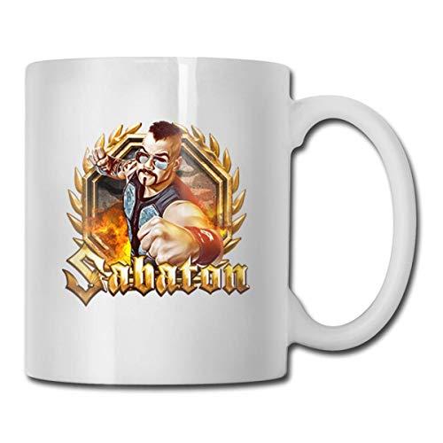 N\A Sabaton Kaffeetasse Tasse Stilvolle, einfache, Aber Elegante Kaffeetasse aus Keramik