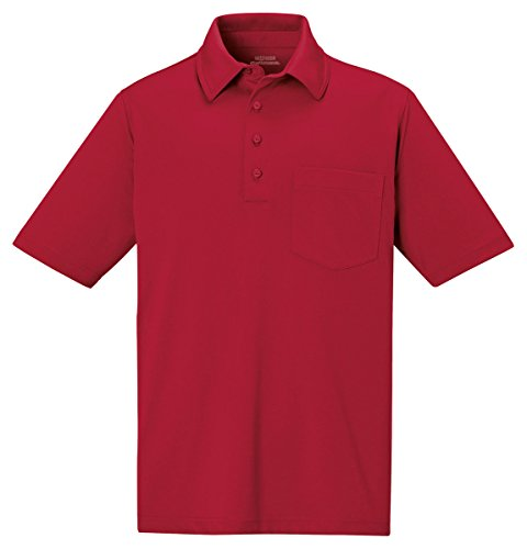 85114 EX MENS SHIFT SNG PRT SS POLO CLASSIC RED 850 2XL