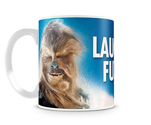 Star Wars Ceramic Mug Chewbacca Laugh It Up Fuzzball Gift Box