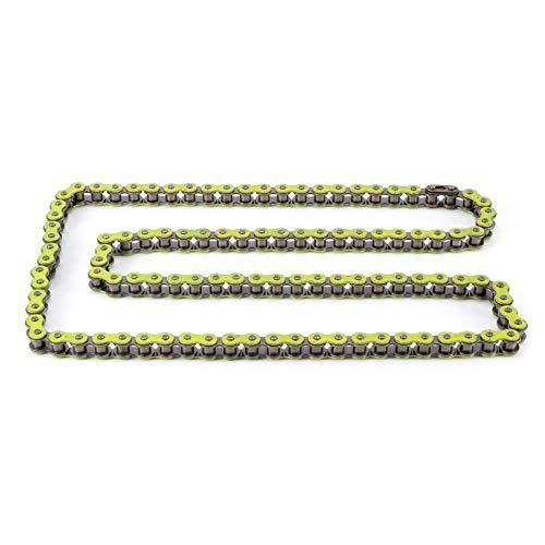 Gaeirt Praktische Korrosionsschutz-robuste Gliederkette Verschleißfest für Motorräder(C (Yellow))