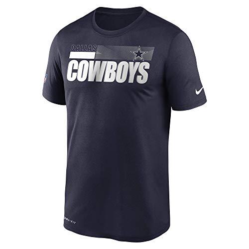 Dallas Cowboys Camiseta Legend para hombre - 200210084, playera Legend, S, Azul marino/flor y brillo
