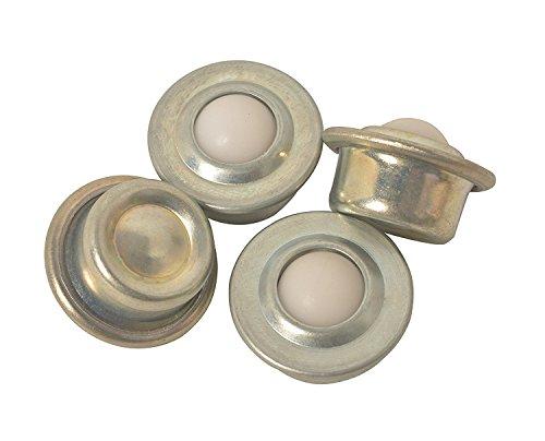 E-Meoly Kugelrollen, mit Nylonkugel, für Getriebe, Möbel, Rollstuhl, 5/8-Zoll (15,88 mm), Set mit 4 Stück
