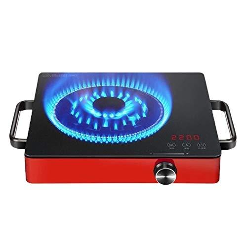 Cocina eléctrica del hogar 220V - 2200W Inducción Inducción Mini Cocina de inducción Pote caliente Inducción Estufa eléctrica