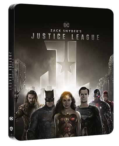 Zack Snyder's Justice League Steelbook (4K Ultra HD)