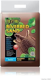 Exo Terra Riverbed Sand, 10-Pound, Brown