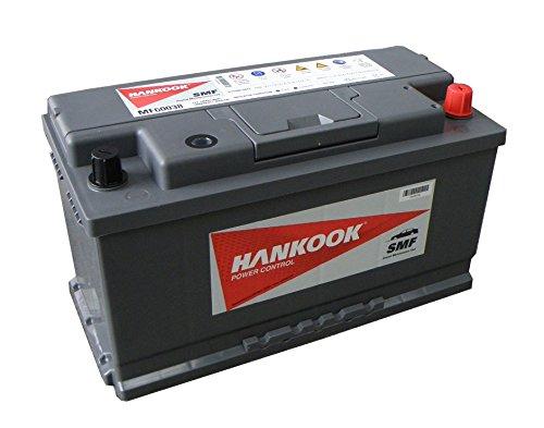 Hankook coche Batería 100Ah, 4 años de garantía