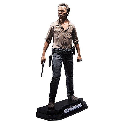 The Walking Dead TV Version Figura Rick Grimes 18 cm