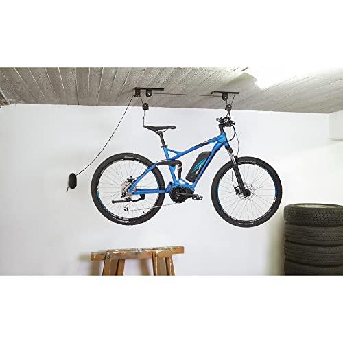Fischer ProfiPlus Élévateur de vélo, Mixte - Adulte, 50386, Noir , 30 kg