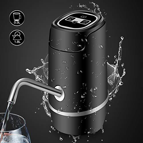 Eplay Dispensador de Bomba de Agua, Recargable Dispensador de Agua Automático Eléctrico, Succión…
