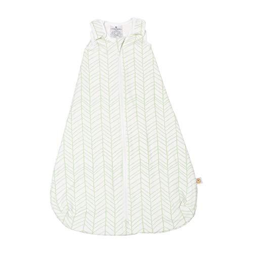 Ergobaby Ganzjahres Baby-Schlafsack Neugeborene 56-62 Baumwolle, Ganzjahresschlafsack Baby 0-6 Monate TOG 1, Bamboo