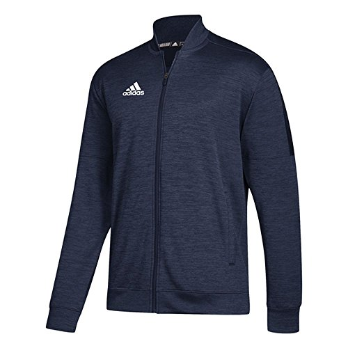 adidas Athletics Team Issue Bomber Jacke, Herren, Bomberjacke, Athletics Team Issue Bomber, Collegiate Navy Melange/Weiß, X-Large