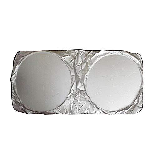 Daoli Auto-Sonnenschutz-Aufkleber UV-Seitenscheibe 190 x 90 cm Auto-Sonnenschutz-Farbton-Windschutzscheibe vorne Heckscheibe Film Masken-Abdeckung UV-Schutz Reflektor Car-Styling
