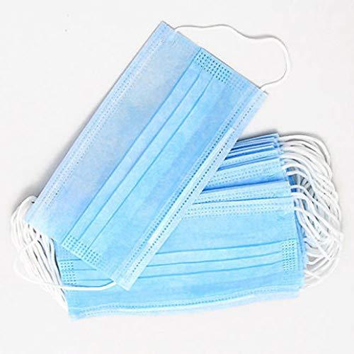 Mundschutz blau 3 lagig 50 Stück Box DIN 14683 NEU