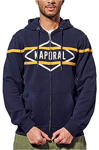 Kaporal BASEE21M33 Sweat, Navy, XL Homme