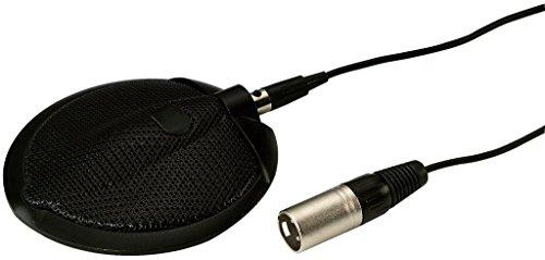 MONACOR ECM-302B Microfoon met grendeloze vlak, 6 m aansluitkabel, zwart
