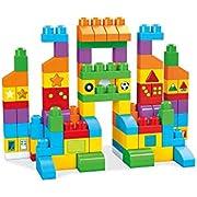 Mega Bloks FVJ49 Let's Get Learning Bricks, Multi-Colour