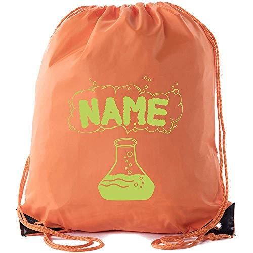 BOUIA Trank Custom Name Cinch Taschen, Halloween-Leckereien-Tasche, Halloween Custom Cinch Taschen 36X43CM