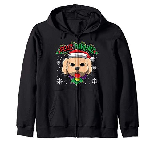 Feliz Navidad - Dulces animales navideños - Perro Sudadera con Capucha