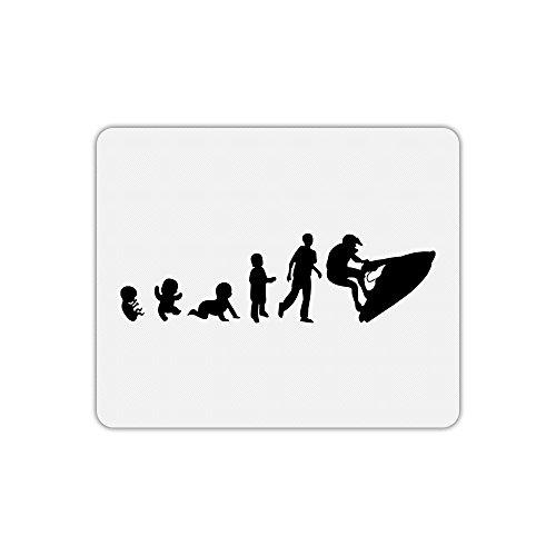 Tappetino per Mouse rettangolo Bambino evoluzione Moto d' acqua