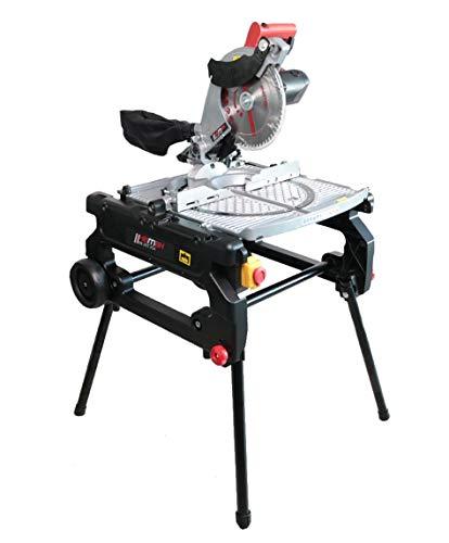 HEMAK HK-ZKT 254 3in1: Tischkreissäge Kappsäge Gehrungssäge 1800W 254mm