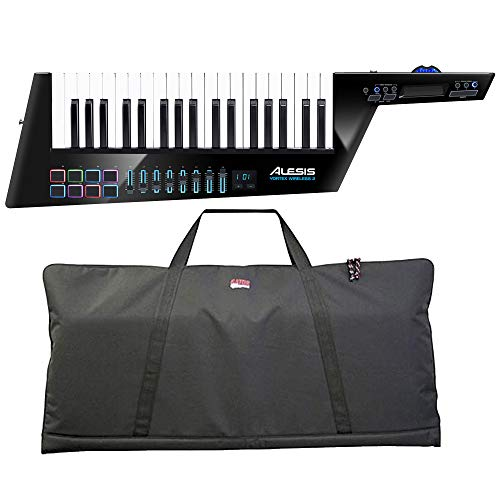 Alesis Vortex Wireless 2 USB/MIDI Keytar Controller with Gator GKBE-49 Economy Keyboard Bag