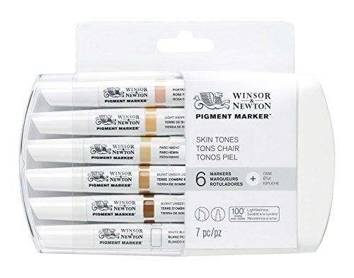 Winsor & Newton Pigment Marker - Skin Tones (Pack of 6)