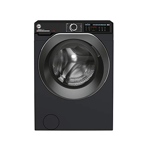 Hoover H-Wash 500 HW412AMBCB Free Standing Washing Machine, Large Capacity, A+++, 12 kg, 1400 rpm,...