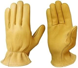 Churchill Mens Heavy Elkskin Work Gloves 439EB (10)