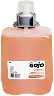 GOJO 5262-02 2000 mL Luxury Foam Antibacterial Handwash, FMX-20 Refill (Pack of 2)