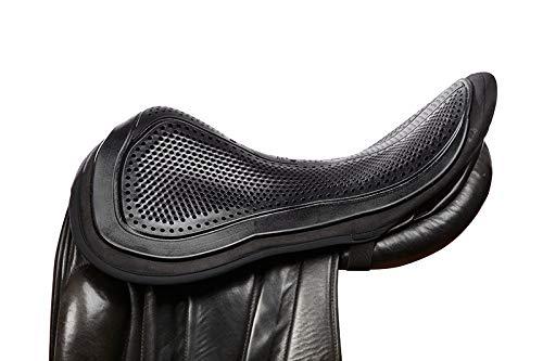 Acavallo out Seat Saver Black Large Protector de Asiento de Gel (tamaño Grande), Color Negro, Unisex, L