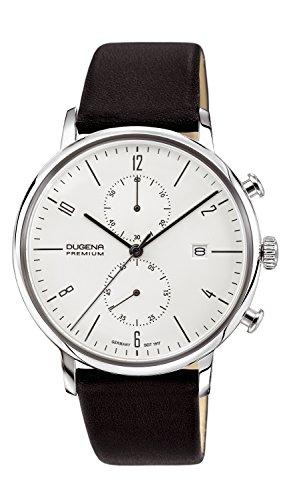 Dugena Orologio Cronografo Quarzo Uomo con Cinturino in Pelle 7000239