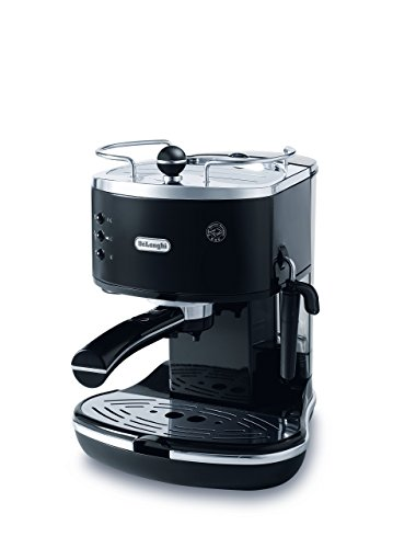 DeLonghi - 15 Bar Pump Driven Espresso Cappuccino Maker - ECO310BK
