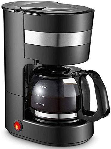 ZKAIAI Cafetera, máquina de café para el hogar, filtro automático tipo goteo, base de aislamiento de temperatura constante, secado antiquemaduras, fácil de quitar y lavar