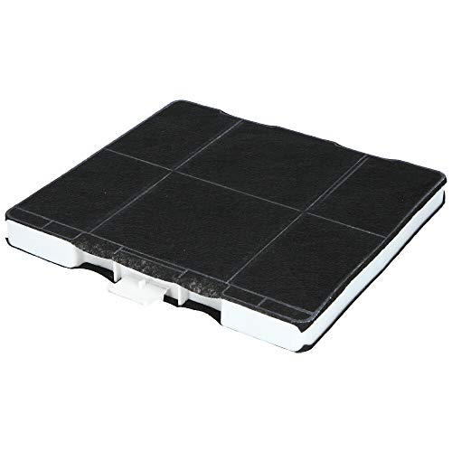 Aktivkohlefilter für Dunstabzugshaube geeignet als Alternative für Kohlefilter 11026769, für Dunstabzug von Siemens, Bosch, Neff (1 Filter)